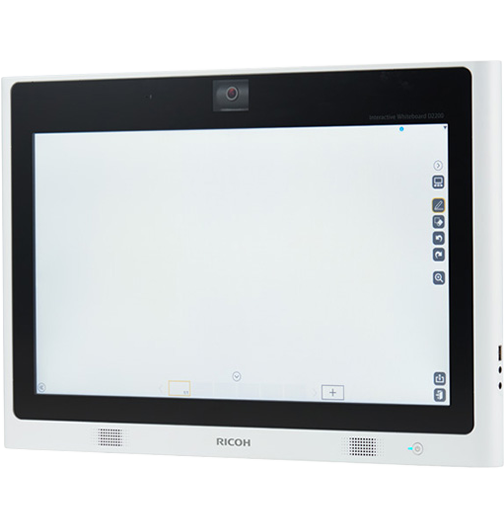 Ricoh digital interactive whiteboard model D2200 at SaraMana Business Products