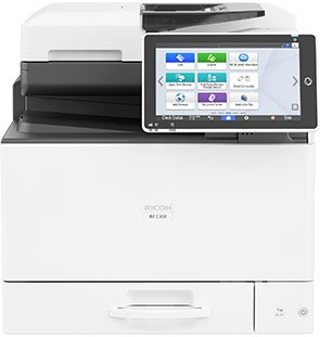 The Ricoh IMC300SPF is available at SaraMana Business Products of Sarasota & Manatee