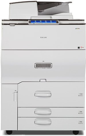 The Ricoh MPC8003SP is available at SaraMana Business Products of Sarasota & Manatee