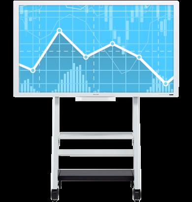 Ricoh digital interactive whiteboard model D6500-10 at SaraMana Business Products